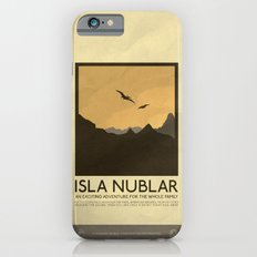 Silver Screen Tourism: Isla Nublar / Jurassic Park World iPhone 6 Slim Case