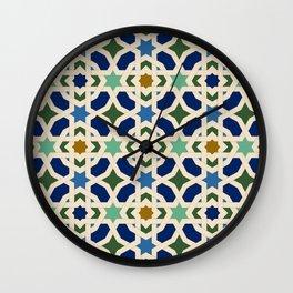 Arab Palaces VI Wall Clock