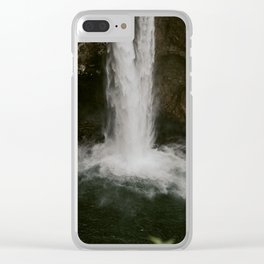 Snoqualmie Falls - WA Clear iPhone Case