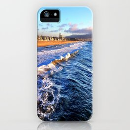 "Hermosa Beach ""On the Pier 2"" iPhone Case"