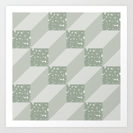 CubeV/ Art Print