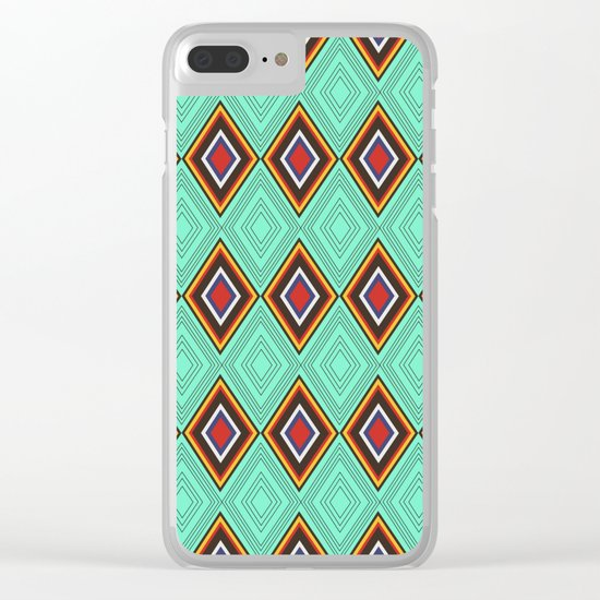Tribal X Clear iPhone Case