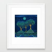 once upon a  time Framed Art Prints featuring Once upon a time... by Viviana Gonzalez