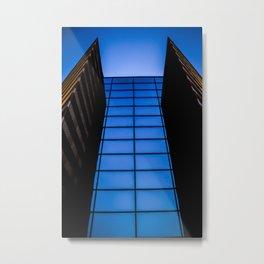 So Blue Metal Print