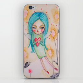 Garden fairy iPhone Skin