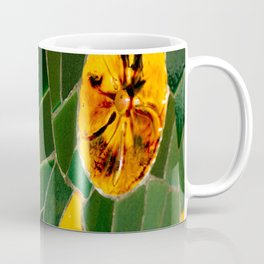 Photograph Yellow and Green Spanish Tile Mosaic Coffee Mug