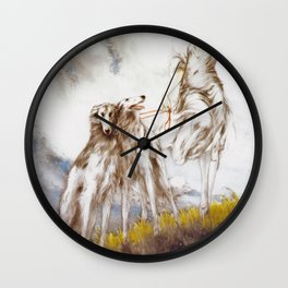 Louis Icart - Hunting - Supreme Delight - Digital Remastered Edition Wall Clock