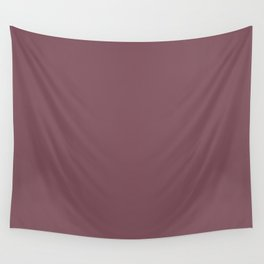 Solid Dull Purple Color Wall Tapestry