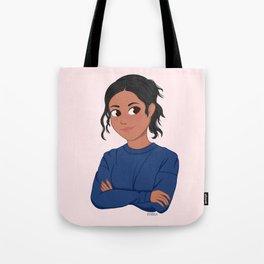 Sport Girl Tote Bag