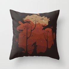 Sanctuarium Throw Pillow