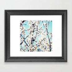 electric flowers II Framed Art Print