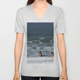 Stairs and Sea Unisex V-Neck