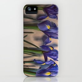 Vintage Irisis iPhone Case
