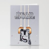 dead space Stationery Cards featuring Dead Space by Spiritius