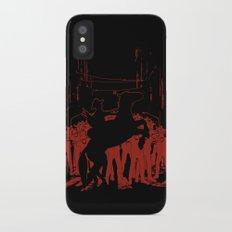 Zombie Crossing iPhone X Slim Case