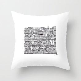 Box City  Throw Pillow