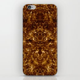 ash-0004-superstructure-gold-s3 iPhone Skin