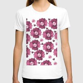 Valentine's day flower T-shirt