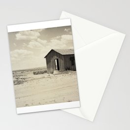 Abandoned Dust Bowl Home  Stationery Cards