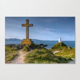 Llanddwyn Cross Canvas Print