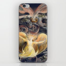 William Blake The Great Red Dragon and the Woman Clothed with the Sun iPhone Skin