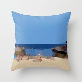 Clovelly Beach 2013 Throw Pillow