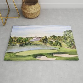 The Congressional Golf Course 10th Hole Rug