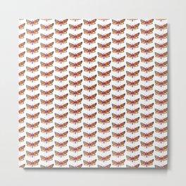 butterflies pattern 1 Metal Print