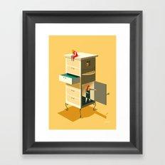 Misunderstandings Framed Art Print