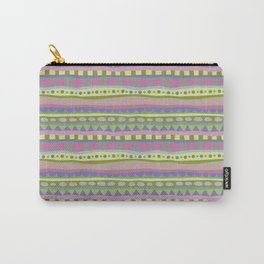 Stripey-Fairytale Colors Carry-All Pouch