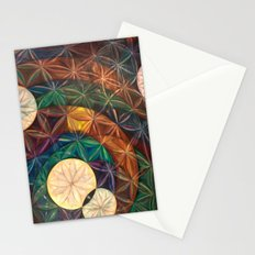Tetrahedral Nodes HDR Stationery Cards