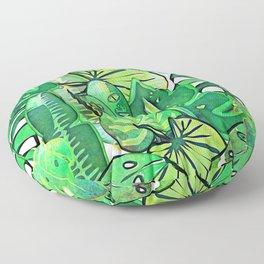 Bohemian Jungle Floor Pillow