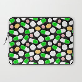 Deadly Pills Pattern Laptop Sleeve