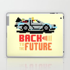 Back to the future: Delorean Laptop & iPad Skin