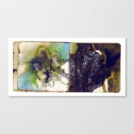 blue glaze Canvas Print