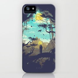 The Guardian Of The Sun iPhone Case