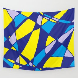 Shattered Oil Painting - Rasha Stokes Wall Tapestry