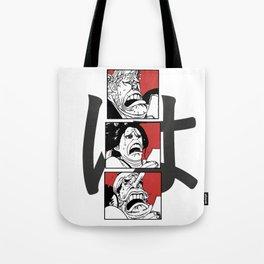 One Piece Ha Robin Usopp Franky Reaction Tote Bag