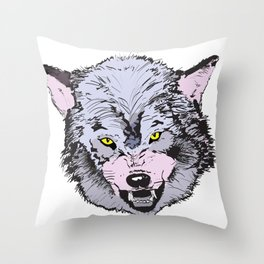 The Bad Guy Throw Pillow