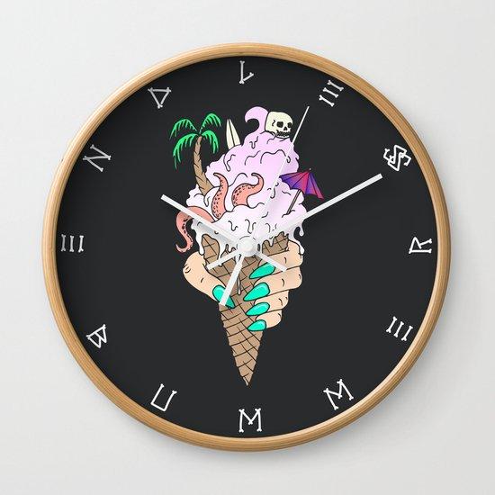 ENDLESS BUMMER Wall Clock