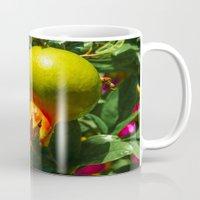 pomegranate Mugs featuring Pomegranate by Ricarda Balistreri