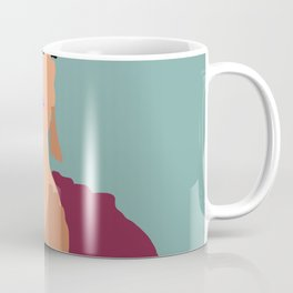 Frida Khalo Flat Graphic Modern Coffee Mug