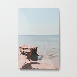 Canadian shore Metal Print