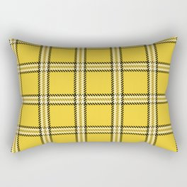 Clueless Plaid Rectangular Pillow