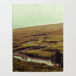 SCOTLAND / Glen Etive, Highlands / 01 Poster