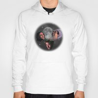 nicolas cage Hoodies featuring 3 Cage Moon by Jared Cady