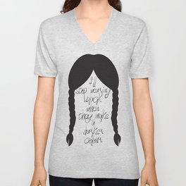 Wednesday Addams Unisex V-Neck