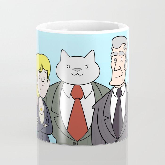 Business Cat Cast Coffee Mug