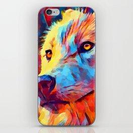 Wolf Portrait 3 iPhone Skin