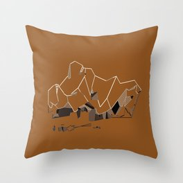 Crush. Throw Pillow